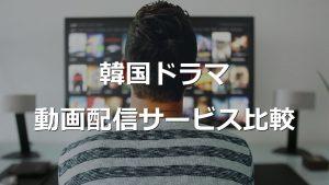 韓国ドラマ動画配信サービス比較